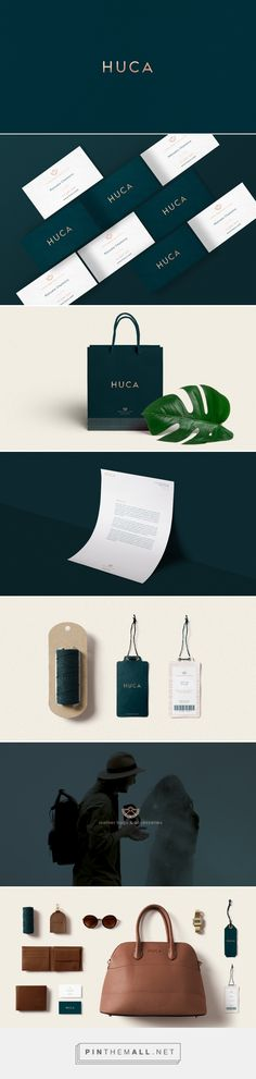 Huca Leather Products and Accessories Branding by Ania Fernández | Fivestar Branding Agency – Design and Branding Agency & Curated Inspiration Gallery #branding #brand #design #designinspiration