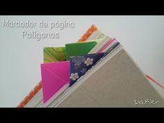 Origami: marcador de página Polígonos