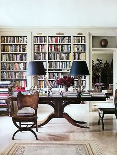 Minimalist House Design, Minimalist Home, Book Storage, Storage Ideas, Home Libraries, Design Your Home, Beautiful Interiors, Home Office, Home Goods