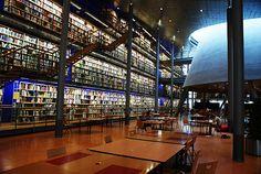 Biblioteca de Delft  Arquitetura : Mecanoo  Foto : Frederico Zanelato