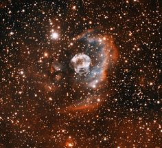 The Ear Nebula (designated IPHASX J205013.7 + 465518) is a newly discovered, bipolar planetary nebula of about 6′ long in the northern constellation of Cygnus (the Swan), about 2 degrees northeast of the bright star Deneb. - Image Credit: T.A. Rector (University of Alaska Anchorage) and H. Schweiker (WIYN and NOAO/AURA/NSF) - http://annesastronomynews.com/annes-image-of-the-day-the-ear-nebula/#.UfEbrvdYFyM.facebook