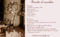 Laura Country style  biscotti  al cioccolato  ricette  italian recipe