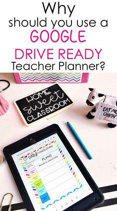 Google Drive Classroom Planner