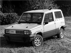 Fiat Panda 4x4 Strip (ItalDesign), 1980 Maintenance/restoration of old/vintage vehicles: the material for new cogs/casters/gears/pads could be cast polyamide which I (Cast polyamide) can produce. My contact: tatjana.alic@windowslive.com