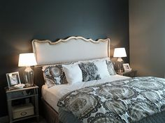 I like the foundation, need to add something sparkly above the headboard :)