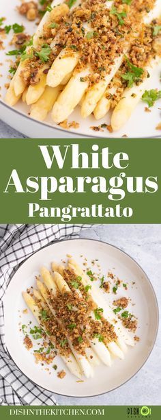 Tasty Herb Pangrattato is a toasted seasoned breadcrumb mixture that is delicious on everything from steamed white asparagus to baked mac 'n' cheese. Use your favourite herbs and spices to customize it to your liking.