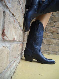 Laredo Women's Madison Western Boots in Navy $110 | kicks ...