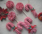 DIY christmas ornaments...love the lollipops