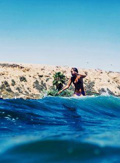 #Surfing #Girl...