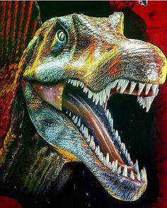 Spinosaurus, Jurassic Park World, Dinosaur Art, Unique, World, Dinosaurs