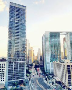 City girl here this time on my way to #Dallas Texas. Any tips on what to do there?  This awesome view from #Miami a couple weeks back. (via Instagram)