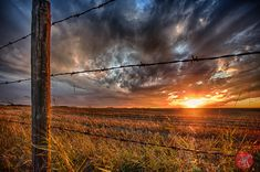 Harvest Time on the Prairies . Part 2 — MiKSMedia Photography Harvest Pictures, Cottonwood Creek, Crop Field, Farm Images, Hay Bales, Barbed Wire, Harvest Time, Beautiful Sunrise, Sky And Clouds