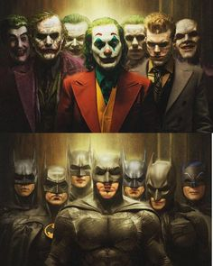 If you were making a Batman movie, which Batman would you pick for your movie and which Joker would… Batman Poster, Batman Artwork, Batman Comic Art, Der Joker, Joker Art, Joker Batman, Gotham Batman, Batman Robin, Joker Images