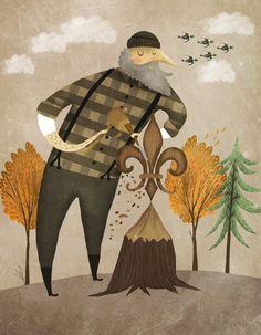 Fuidelfui Illustration Marie-Eve Tremblay