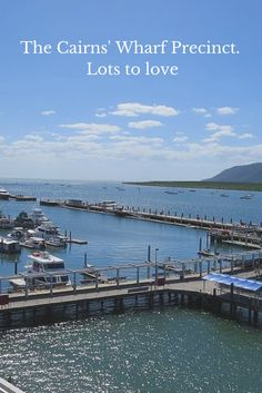 The Cairns' Wharf Precinct is wonderful place for families to stay, dine and play Family Vacation Destinations, Family Vacations, Wonderful Places, Beautiful Places, Great Barrier Reef, Cairns, Where To Go, Family Travel, Seaside