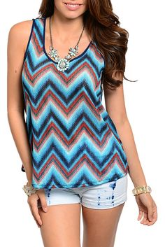 DHStyles Women's Blue Black Trendy Sexy Chevron Sheer Open Back Top - Large #sexytops #clubclothes #sexydresses #fashionablesexydress #sexyshirts #sexyclothes #cocktaildresses #clubwear #cheapsexydresses #clubdresses #cheaptops #partytops #partydress #haltertops #cocktaildresses #partydresses #minidress #nightclubclothes #hotfashion #juniorsclothing #cocktaildress #glamclothing #sexytop #womensclothes #clubbingclothes #juniorsclothes #juniorclothes #trendyclothing #minidresses #sexyclothing…