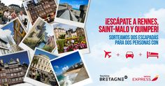 ¡Escápate a Rennes!Vuelo +  coche + hotel