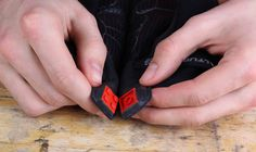 Keep your gloves together with lego and sugru!