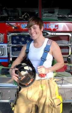 Dani Campbell- one of my fav people  Excuse me Ms. Firewoman, but I'm in need of rescue! You've set my panties on fire!