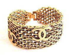 Vintage Chanel bracelet  The Pink Veranda : A Vintage Wish List