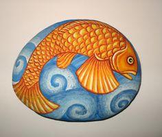 kamvas+: Χειροποίητες ζωγραφισμένες πέτρες