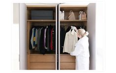 Organization tips from when Gwyneth cleaned out her closet.