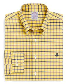 539ddf8e Non-Iron Regular Fit BrooksCool® Double Windowpane Sport Shirt. Brooks  Brothers MenMens ...