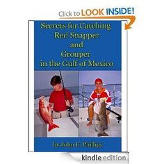 $0.99 - Amazon.com: Secrets for Catching Red Snapper and Grouper in the Gulf of Mexico eBook: John E. Phillips: Kindle Store