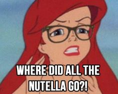 Such angst. | 17 Disney Nutella Memes Guaranteed To Make You Laugh Out Loud