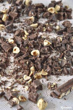 Έχεις αυγά, αλεύρι & nutella; Φτιάξε ένα κέικ! Nutella, Loaf Cake, 3 Ingredients, Chocolate Cake, Donuts, Deserts, Stuffed Mushrooms, Cupcakes, Candy