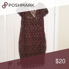"""Boohoo Olive Floral Lace Dress Boohoo Olive Green Floral Lace Dress. Brand new/ never worn. Able to fit a size 18/20. Final Sale. Offer must be listing price  My measurements: Height: 5'6 Waist: 52"""" Bust: 42G Size: 20 Boohoo Plus Dresses"""
