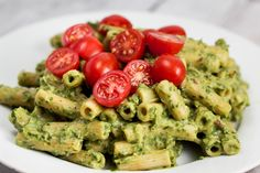 Avocado Cream Penne with Herbs. This healthy avocado sauce required no cooking. Just add the hot pasta and you have the perfect vegan sidekick for noodles!