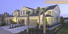 Dream Home of the Day: June 13, 2012: Gorgeous, energy-efficient townhomes in Crenshaw Reserve in Lutz, Florida, near Tampa!