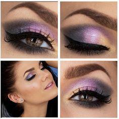 Amythest. Linda Hallberg is my favourite makeup artiste.