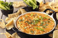 This creamy BBQ Chicken Dip is so tasty you might even forget to keep score! OK, maybe not. But it is still really good. ;)   #recipe #basketball #cheese #snack #entertaining #mexican #game #madness #tournament