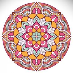 More than a million free vectors, PSD, photos and free icons. Exclusive freebies and all graphic resources that you need for your projects Mandala Wallpaper, Mandala Artwork, Flower Phone Wallpaper, Mandala Drawing, Rangoli Designs With Dots, Rangoli With Dots, Kolam Designs, Coloring Book Art, Mandala Coloring