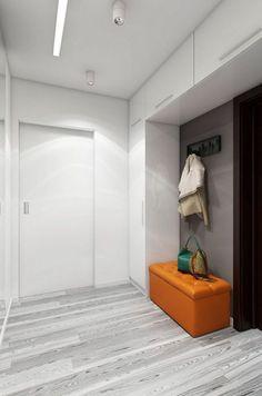 Hallway photo of interior design and decor Bathroom Interior, Home Interior, Modern Interior Design, Interior Design Living Room, Interior Decorating, Interior Photo, Entry Closet, Flur Design, Hallway Designs