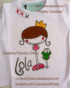 Las cositas de Pepita: Camisetas Pintadas a Mano Súper Originales