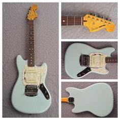 Fender Modern Player Mustang In Daphne Blue