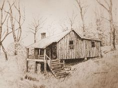 Pencil Drawings Custom Made Landscape Pen And Ink Drawings Landscape Pencil Drawings, Ink Pen Drawings, Love Drawings, Landscape Art, Drawing Sketches, Drawing Faces, Sketching, Landscape Sketch, Barn Drawing