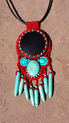 Check out this item in my Etsy shop https://www.etsy.com/listing/247727560/native-american-inspired-black-of-night