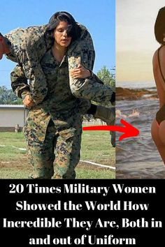 20 Times Military Women Showed the World How Incredible They Are, Both in and out of Uniform - Funny World Military Women, Military Girlfriend, Military Humor, Military Diet, Military Spouse, Military Ball, Perfume, Play Soccer, Melanie Martinez