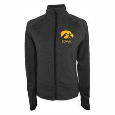NCAA Iowa Hawkeyes Women's Full-Zip Performance Jacket : Target