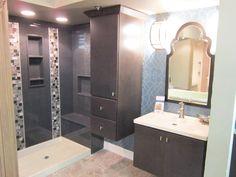 Shower Gallery Onyx Shower, Bathroom Shower Panels, True Homes, Kids Bath, Bath Remodel, Basement Remodeling, Small Bathroom, Bathroom Ideas, Bathrooms