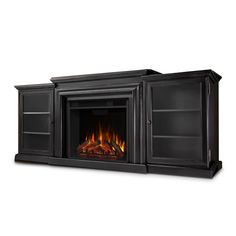 Electric Fireplace Entertainment Center, Media Fireplace, Tv Stand And Entertainment Center, Electric Fireplace Tv Stand, Electric Fireplaces, Entertainment Fireplace, Black Electric Fireplace, Indoor Fireplaces, Home Depot
