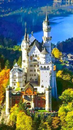 Beautiful+Castles+around+the+World+-+Neuschwanstein+Castle,+Germany