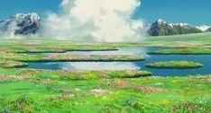 Scenery Studio Ghibli Wallpaper