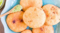 Arepitas Fritas con Queso