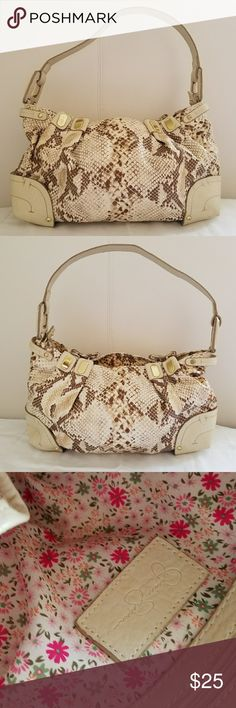 💕Jessica Simpson Animal prints Bag💕 A Beautiful Animal prints Jessica Simpson Bag,  like new, very good conditions😊 Jessica Simpson Bags Satchels