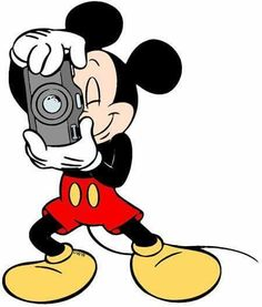 Mickey is taking YOUR photo for a change! Say CHEESE!